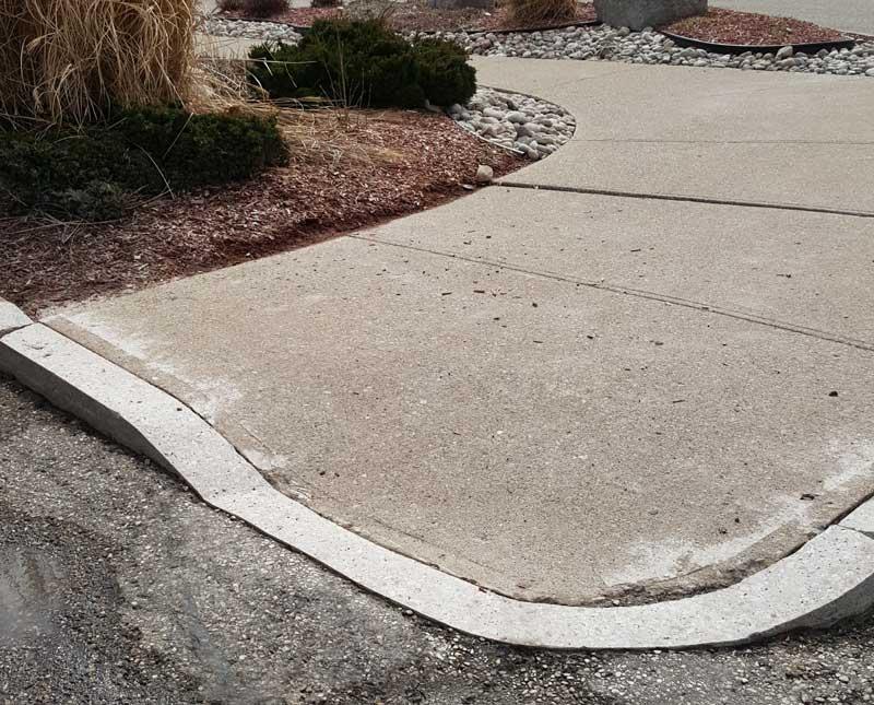 Sidewalk Trip Hazard Removal Company: CleanCrete Cutting